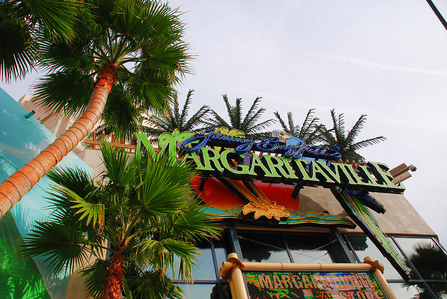 Las Vegas Photograph - Jimmy Buffets Margaritaville In Las Vegas by Susanne Van Hulst