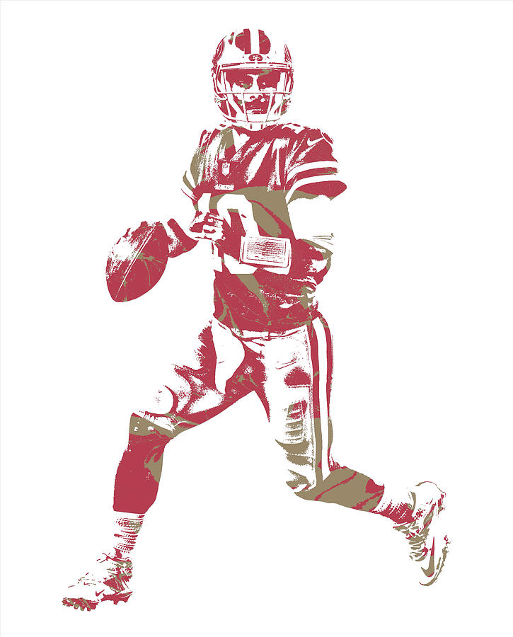 Jimmy Garoppolo San Francisco 49ers Pixel Art 2