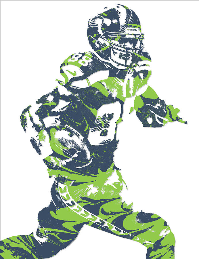 pretty nice 48b50 db11d Jimmy Graham Seattle Seahawks Pixel Art 5