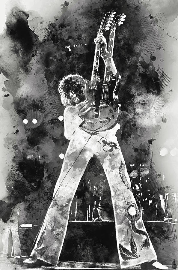 Jimmy Page - 05 Painting
