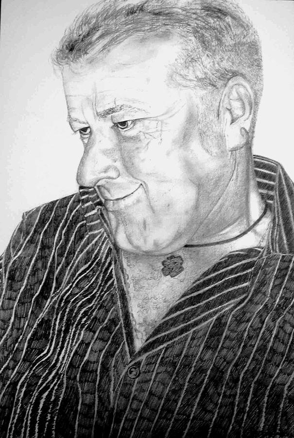 Portrait Painting - Jimmy by Rebecca Tacosa Gray