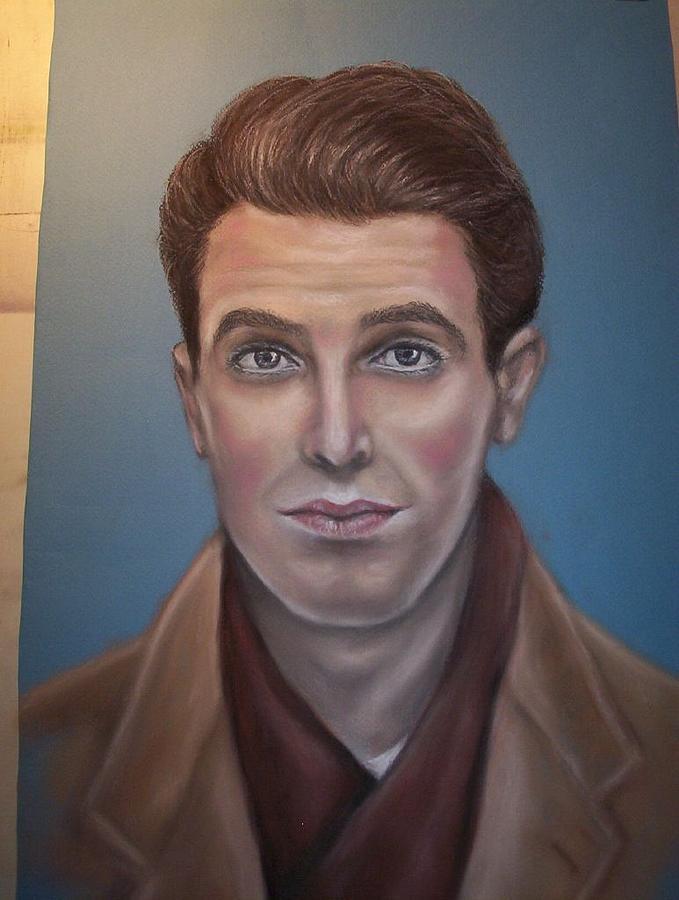 Jimmy Stewart Painting - Jimmy Stewart by Deborah Steinmetz
