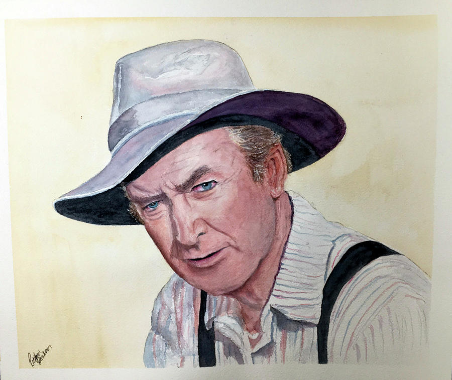 Jimmy Stewart by Richard Benson