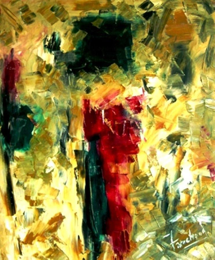 Abstract Painting - Jive by Fareeha Khawaja