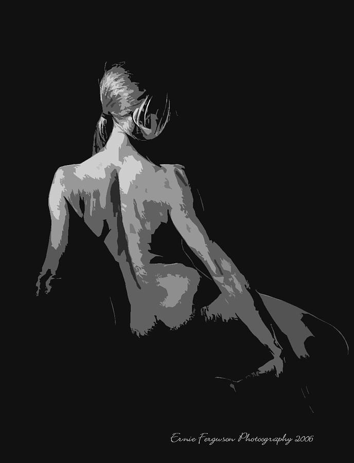 Female Nude Photograph - Jo by Ernie Ferguson