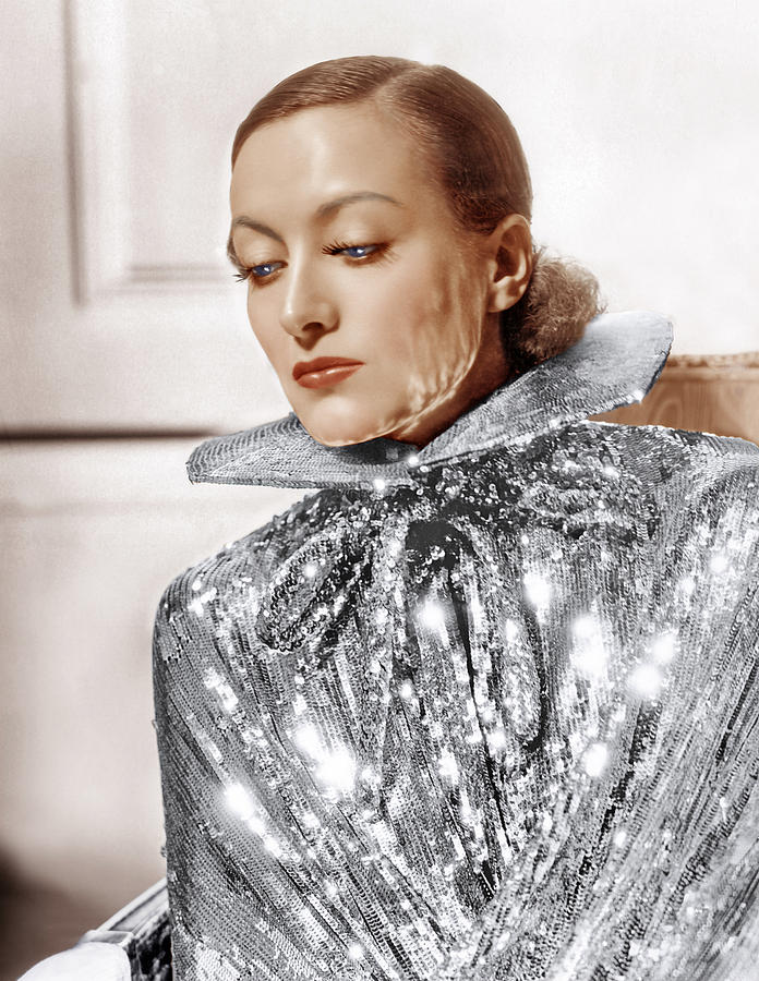1930s Fashion Photograph - Joan Crawford, Photo By Hurrell, Ca by Everett