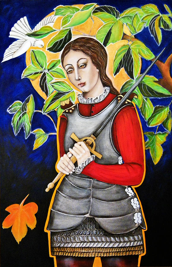 Joan Of Arc Painting - Joan Of Arc by Christina Miller