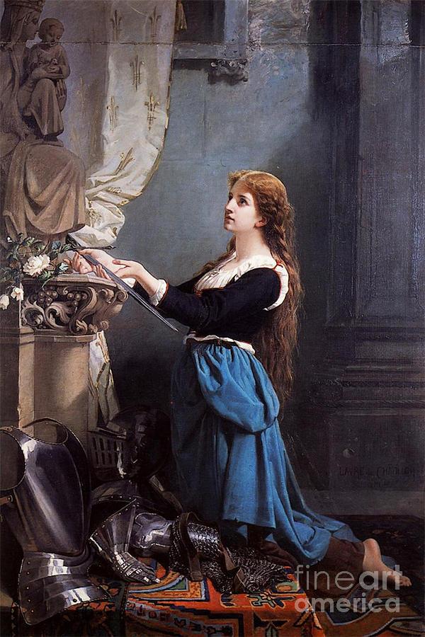 Jeanne D'arc Photograph - Joan Of Arc  by Photo Researchers