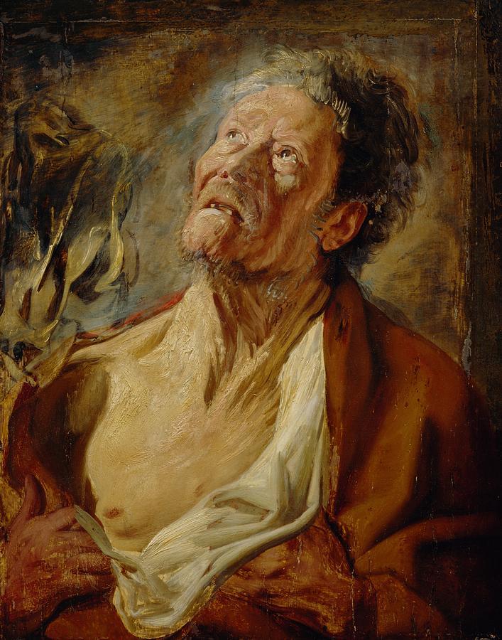 Job Painting - Job by Jacob Jordaens