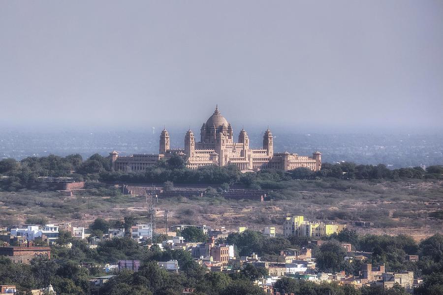 Umaid Bhawan Palace Photograph - Jodhpur - India by Joana Kruse