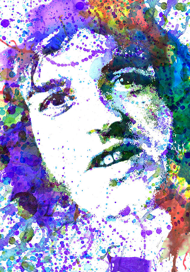 Joe Cocker Painting