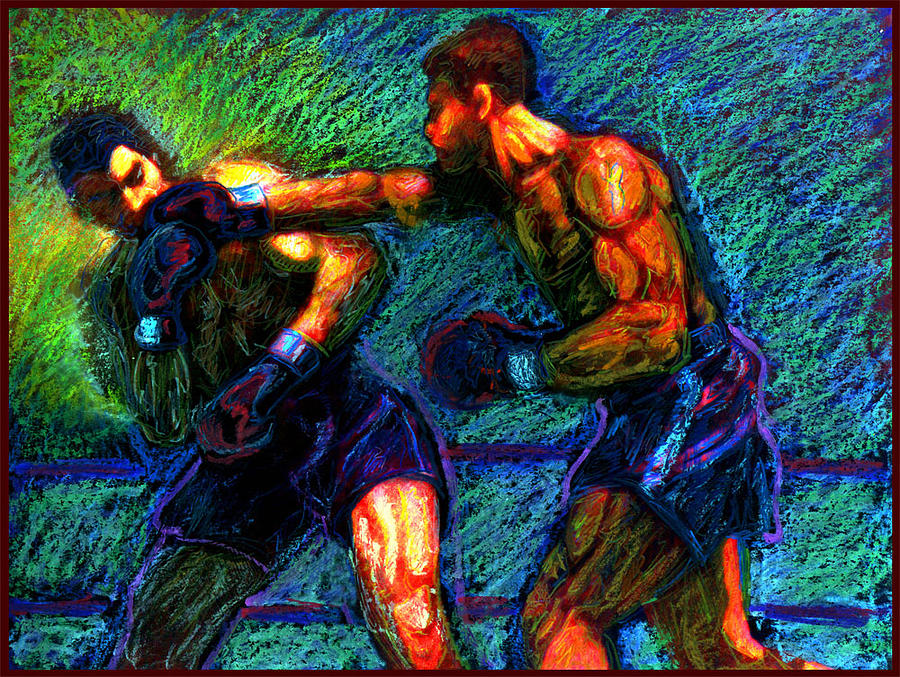 Boxing Painting - Joe Louis  by Don Thibodeaux