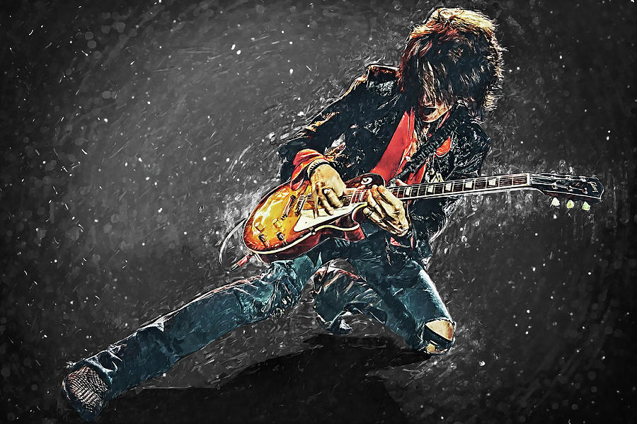 Joe Perry Digital Art