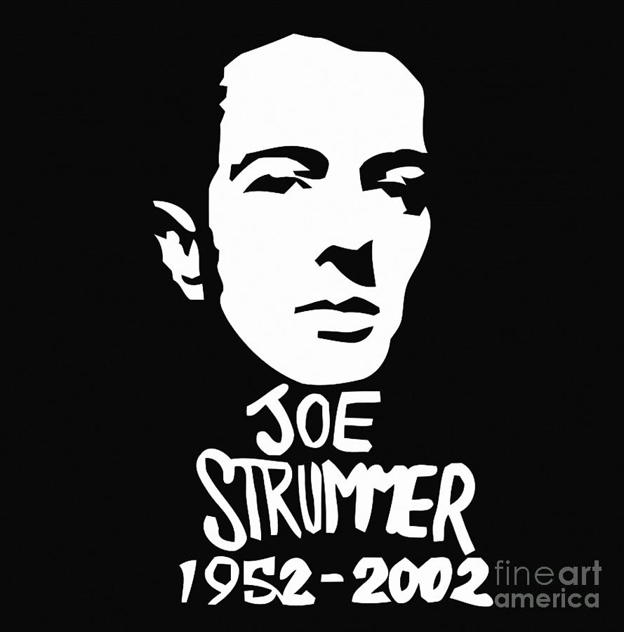 Joe Strummer by Jessie Art