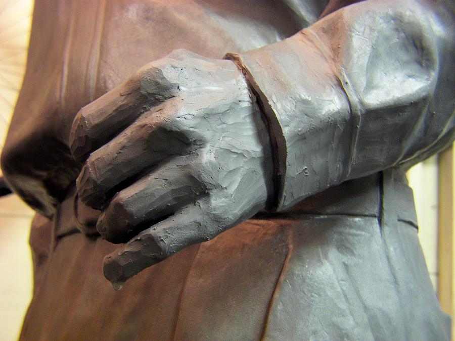 Sculpture Sculpture - Joes Hand by Charles Peck