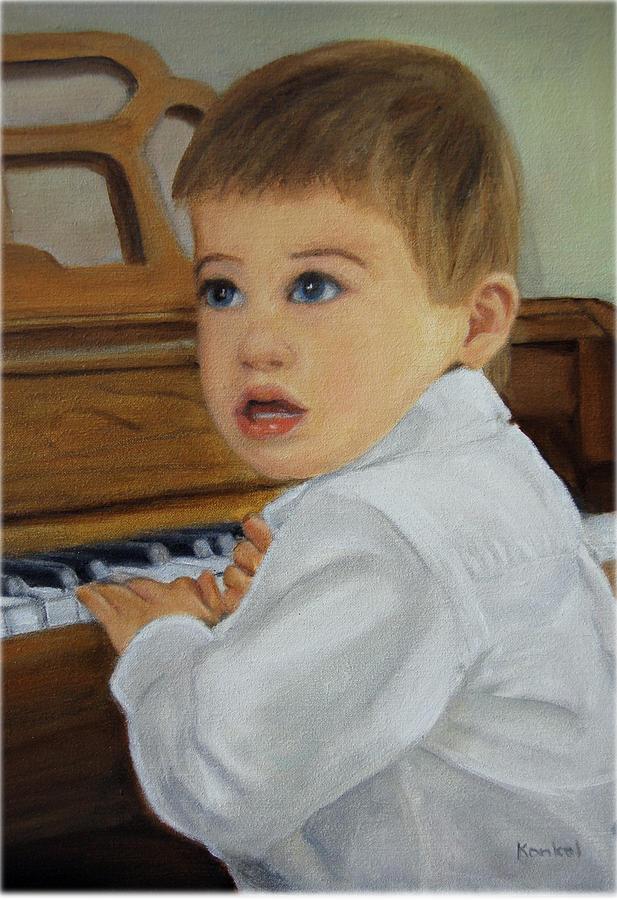 Portrait Painting - Joey by Lisa Konkol