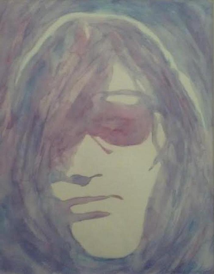 Human Painting - Joey Ramone by Sheila Renee Parker