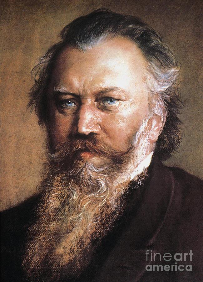 19th Century Photograph - Johannes Brahms by Granger