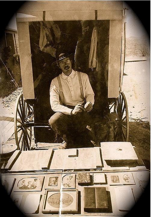 John A. Coffer  Traveling Tintype Photographer  Tombstone Arizona 1980-2009 Photograph by David Lee Guss