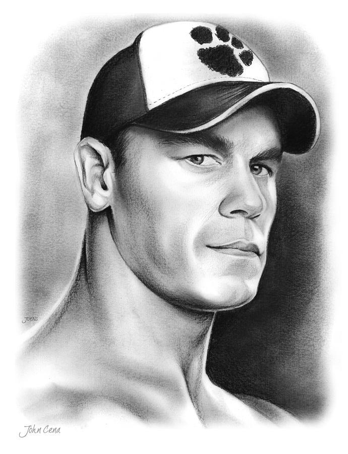 John Cena Drawing By Greg Joens
