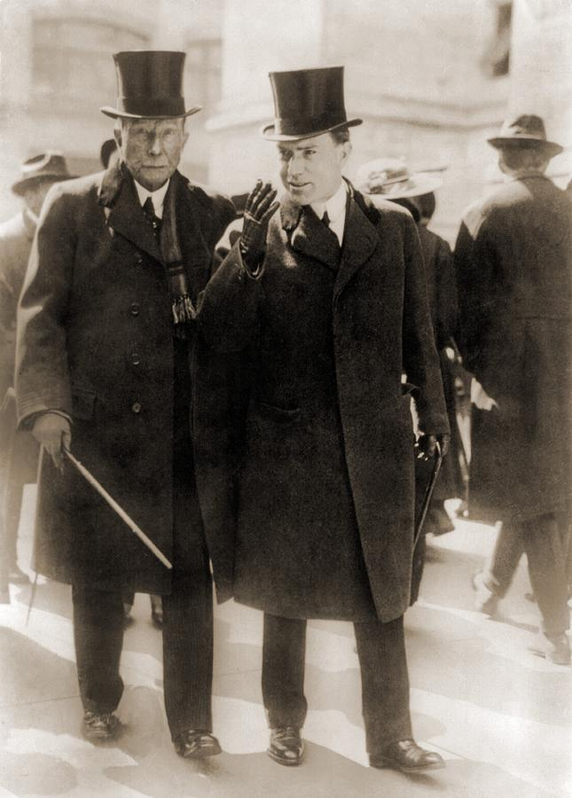 History Photograph - John D. Rockefeller Sr., Founder by Everett