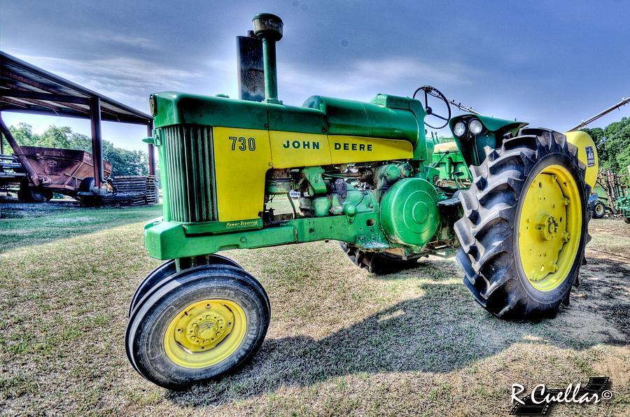 Tractor Photograph - John Deere 730 #3 by Rod Cuellar