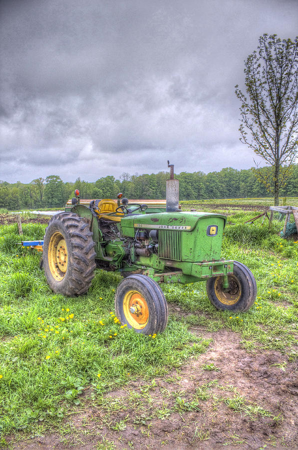 Girly John Deere Paintings : John deere tractor photograph by paul fillion