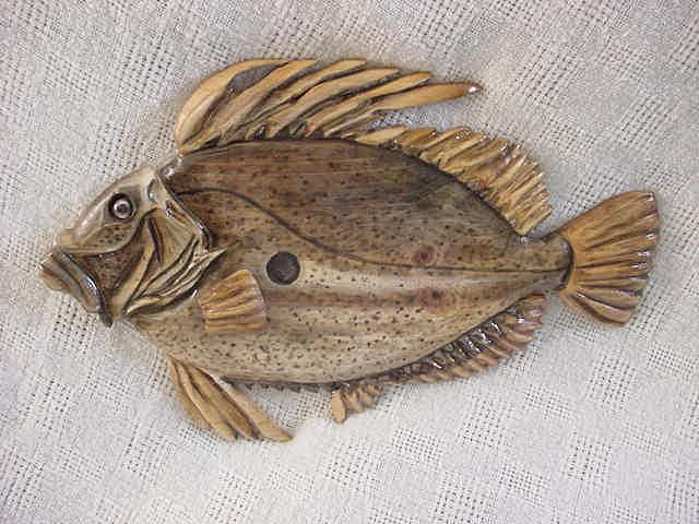Fish Relief - John Dory Fish-sold by Lisa Ruggiero