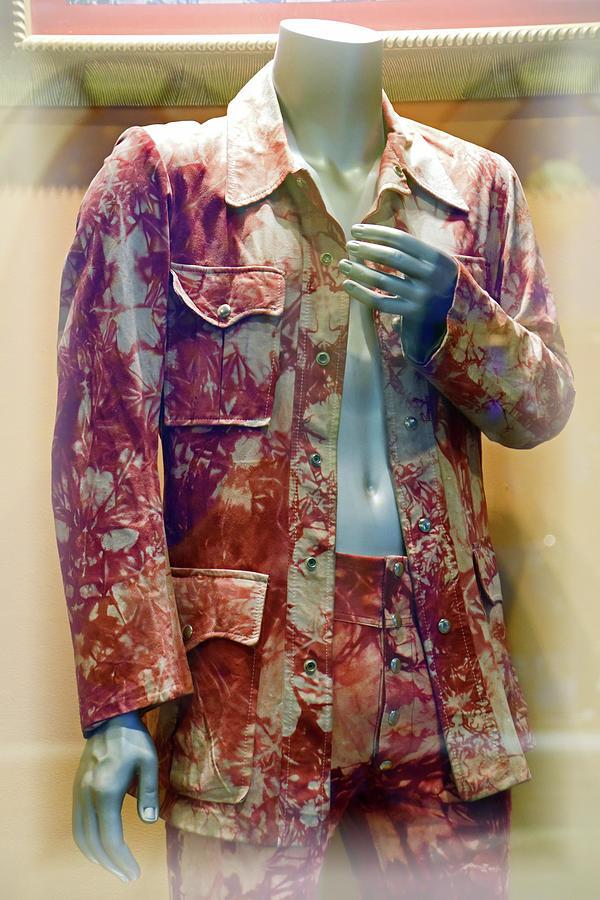 John Entwistle Photograph - John Entwistles Tie Died Suede Suit by Mike Martin