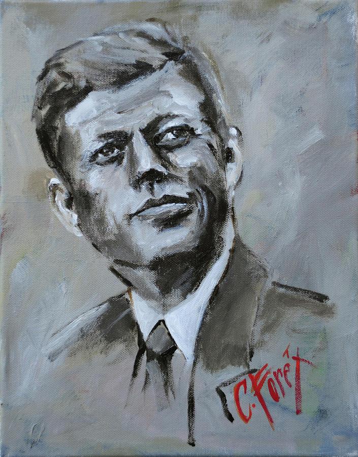 John F Kennedy by Carole Foret