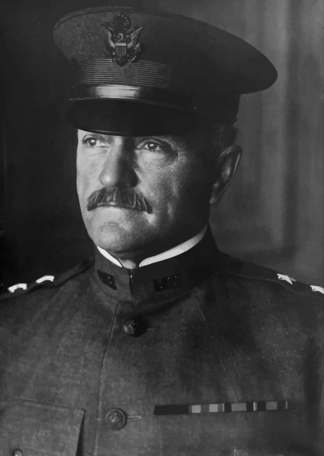 General Pershing Photograph - John J. Pershing by War Is Hell Store