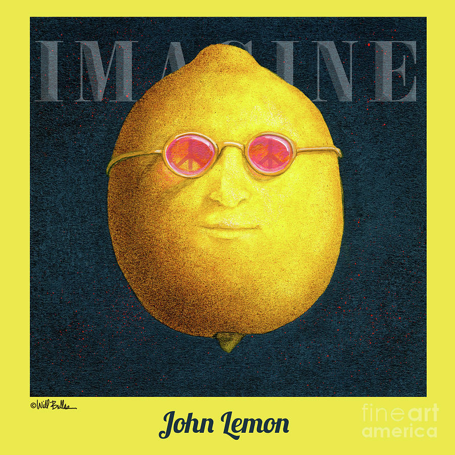 Will Bullas Painting - John Lemon... by Will Bullas