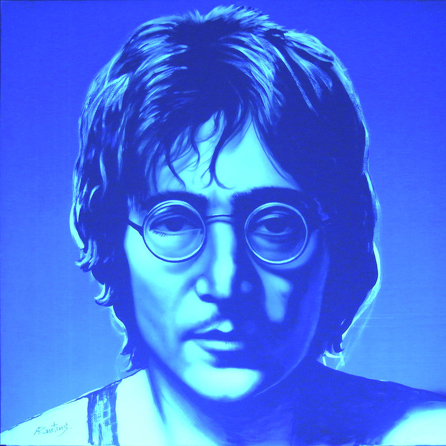John Painting - John Lennon by Agris Rautins