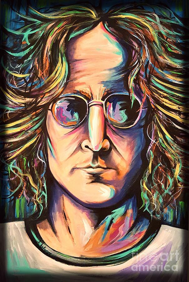 John Lennon Painting - John Lennon by Amy Belonio