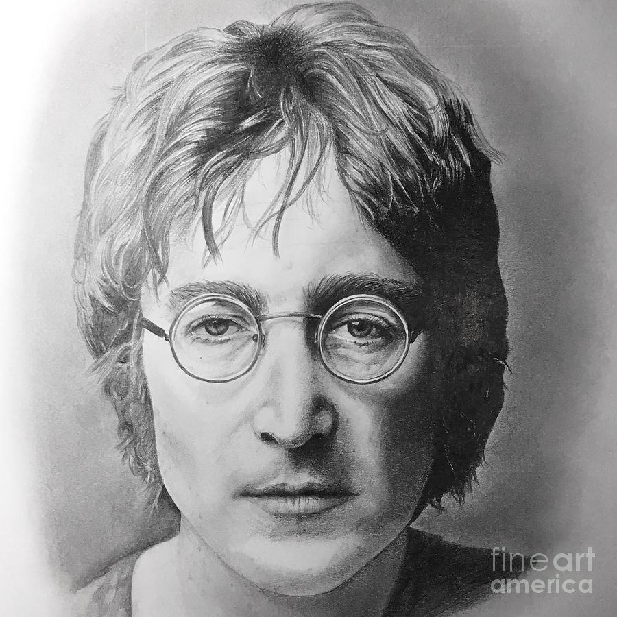 John Lennon Drawing By Emma Ridley