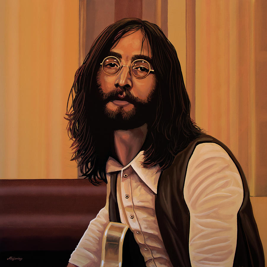 John Lennon Imagine Painting By Paul Meijering