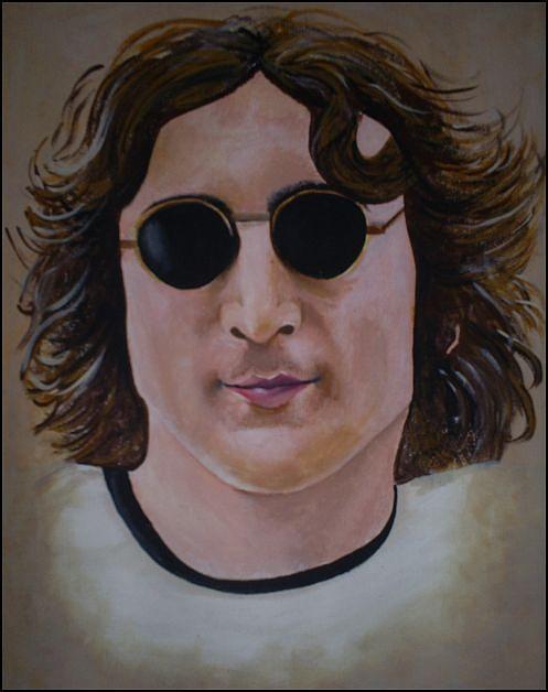 John Lennon Painting - John Lennon by Michelle Williams