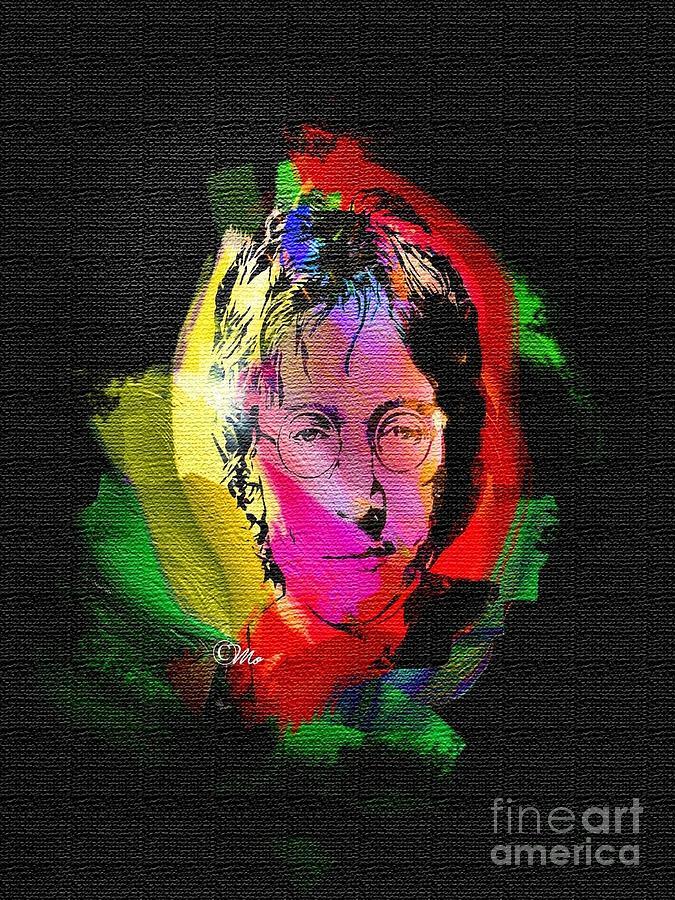 John Lennon Digital Art - John Lennon by Mo T