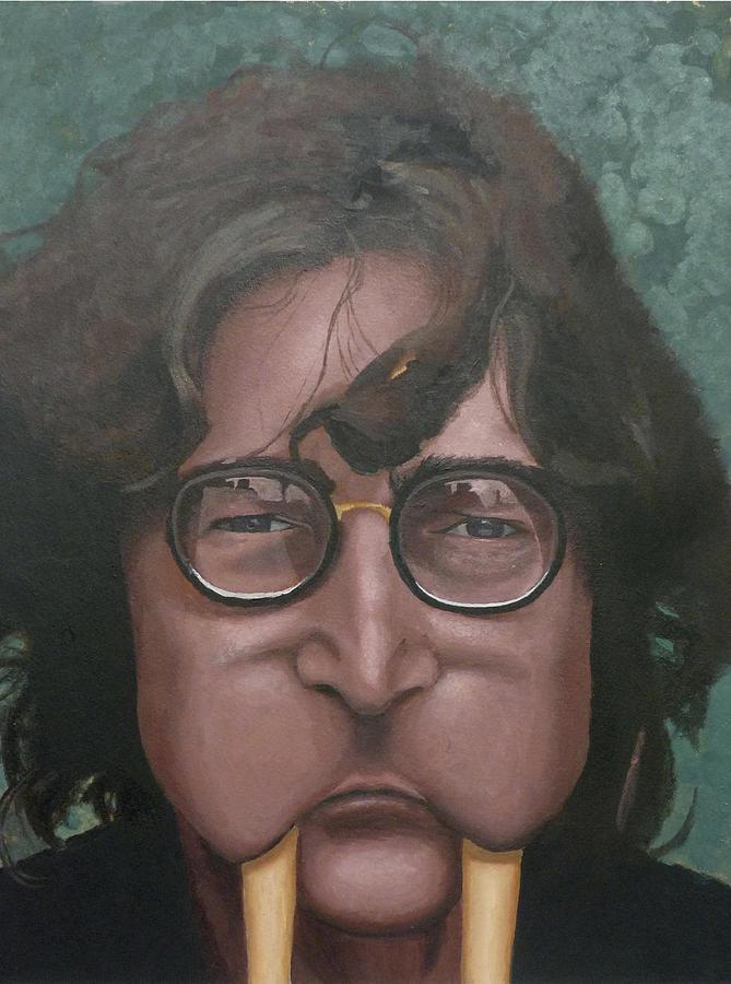 c8cb855b65 John Lennon The Walrus Painting by Frank Pariso