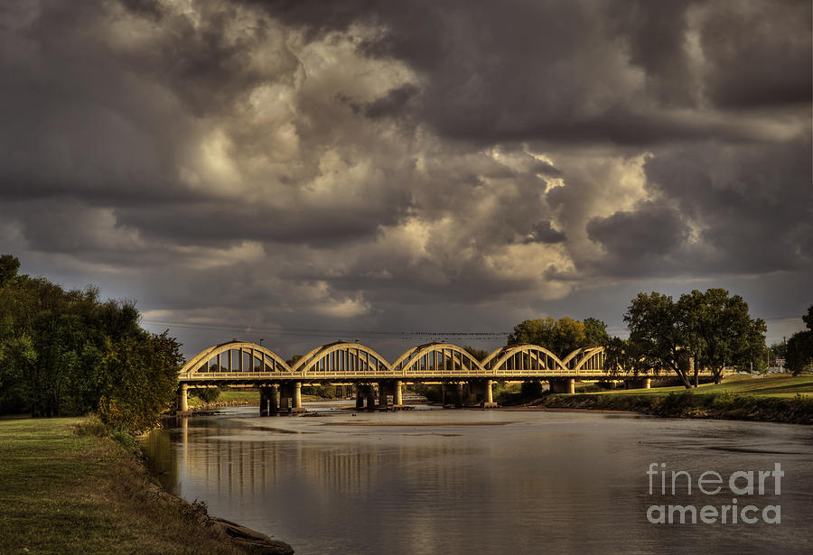 Kansas Photograph - John Mack Bridge by Fred Lassmann