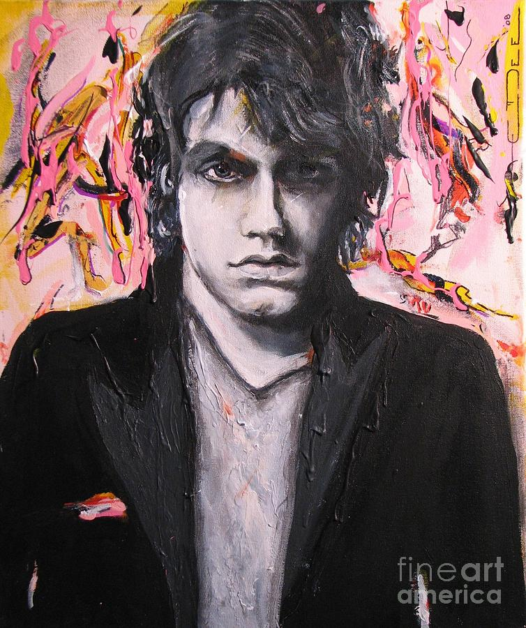 Celebrity Portraits Painting - John Mayer by Eric Dee