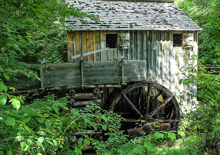 Architecture Photograph - John P cable Mill by Norman Johnson