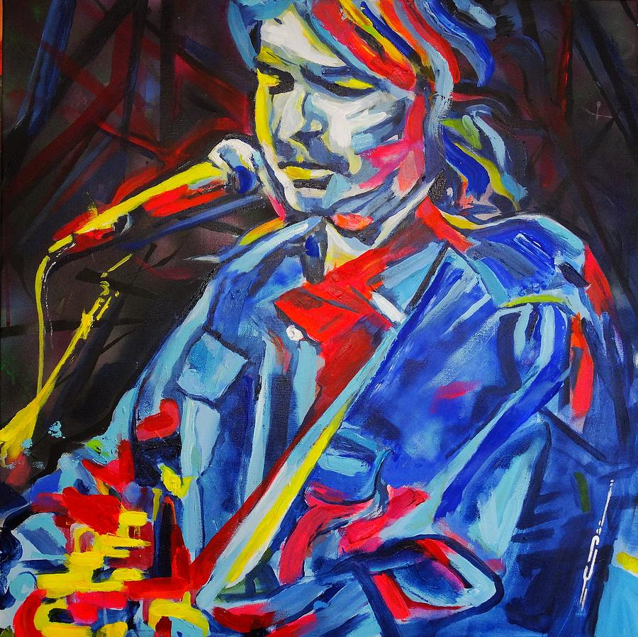 John Prine Painting - John Prine #3 by Eric Dee