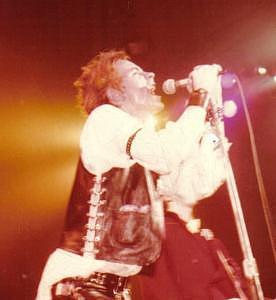 John Rotten-1978 In San Francisco   Photograph by Dawn Wirth