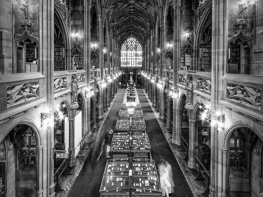 John Rylands Library by Neil Alexander Photography
