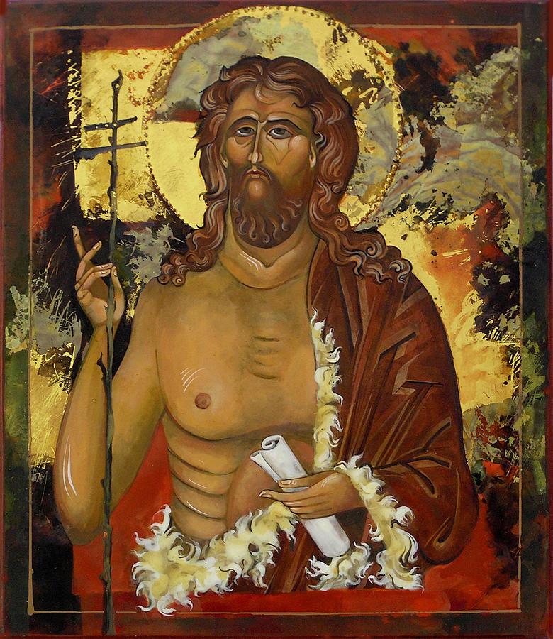 John The Baptist Painting - John The Baptist by Mary jane Miller
