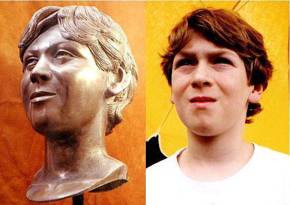 John Tickle Bust Sculpture by Steve Howarth