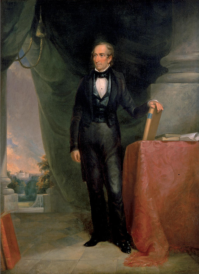 John Tyler Painting - John Tyler by James Reid Lambdin