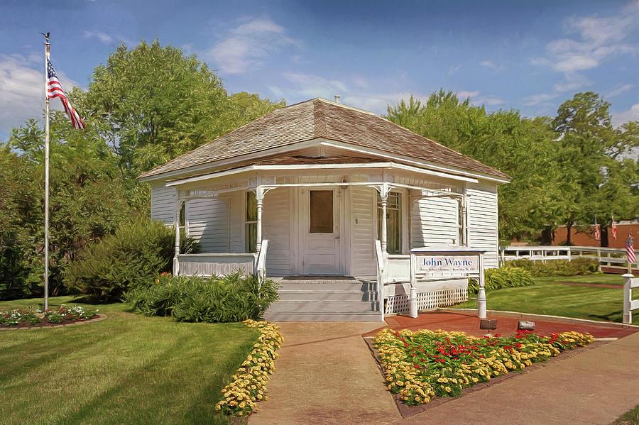 John Wayne Photograph - John Wayne Birthplace by Susan Rissi Tregoning