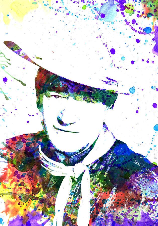 John Wayne Painting
